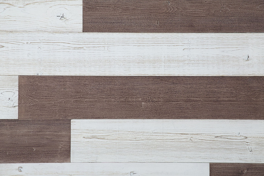 OldBrown,White PeelandStickPlanks