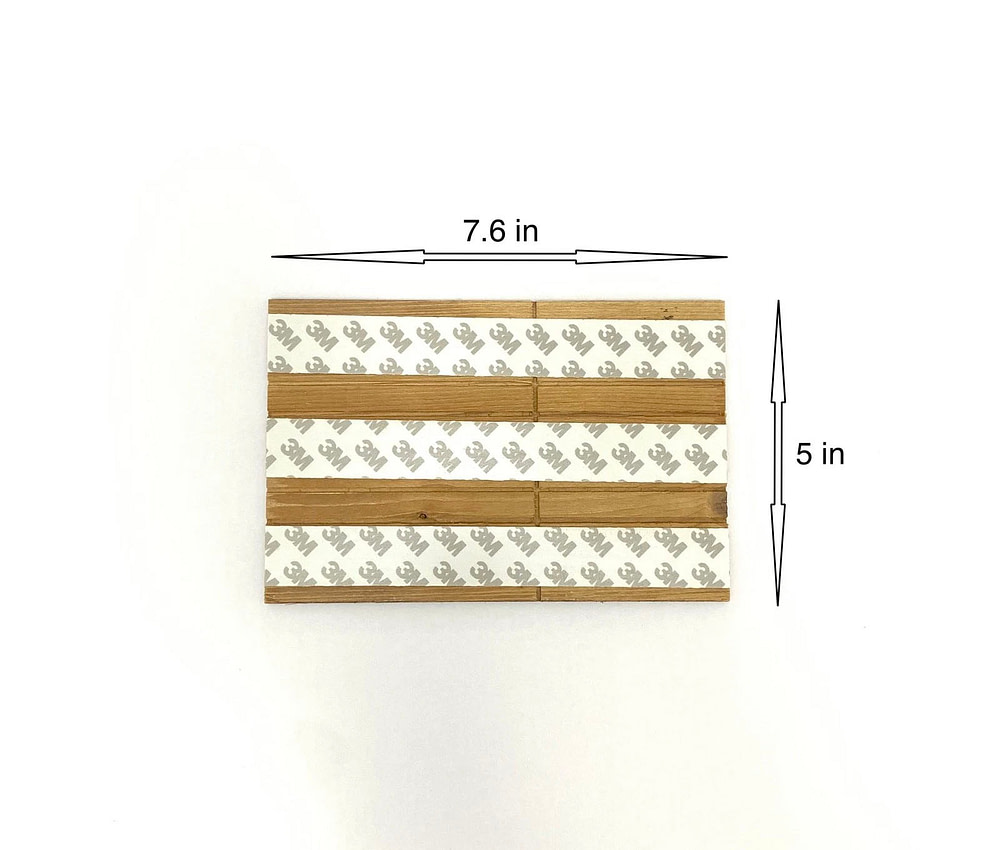 Peel and Stick Wood Samples